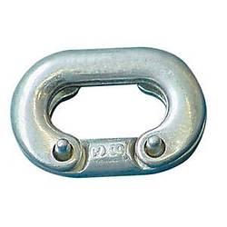Zincir ek baklasý galvanizli Ø : 6 mm