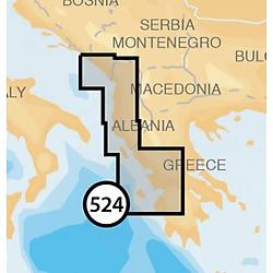 Navionics Gold harita kartuþu. 524.
