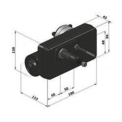 Exalto 232BD Serileri MD1 Silecek Motoru