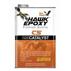HAWK EPOXY C5-S1 ÞEFFAF FÝNÝÞ KATALÝZÖR 031 LT