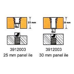 PYI Farþ montaj aparatý paslanmaz çelik 20-30mm