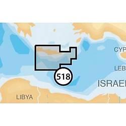 Navionics Gold harita kartuþu. 518.