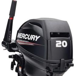Mercury 20 HP Dört Zamanlý Deniz Motoru Uzun Þaft Manuel Marþlý