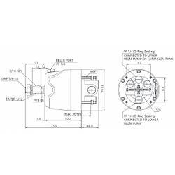 Seafirst MO 150H-R1 Hidrolik dümen sistemi