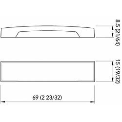 Quick Marine Lighting. Model TAB CPA1