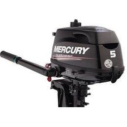 Mercury 5 HP Dört Zamanlý Deniz Motoru Kýsa Þaft