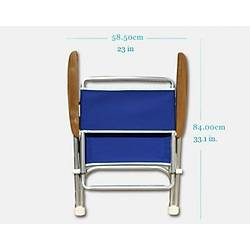 Katlanır Sandalye Navy Blue