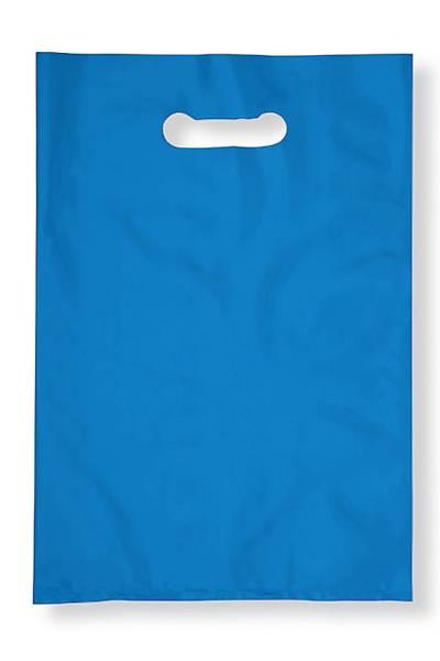 Setler için El Geçmeli Blok Poþet, 20 x 30 cm, Mavi