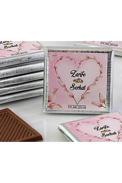 Söz-Niþan Dökme Çikolata - Laleli Kalp