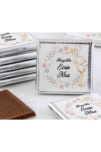 Kýz Bebek Dökme Çikolata - Leylek