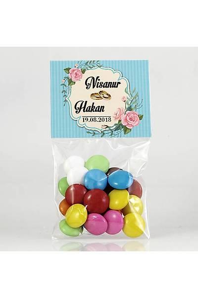 Bonibon Çikolata - Kýna, Nikah - Güllü, Mavi Temalý