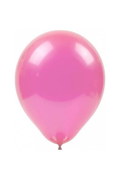Pembe Renkli Balon, 10 Adet