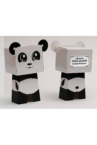 Panda Karakter Figür Þeker Kutusu