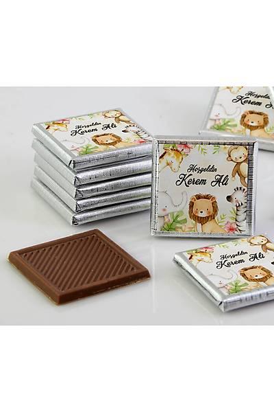 Erkek Bebek Çikolatasý - Kutulu - Safari