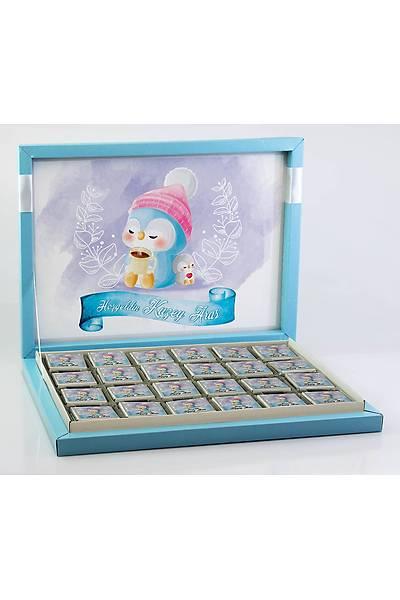Erkek Bebek Çikolatasý - Kutulu - Penguen