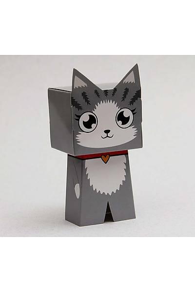 Kedi Karakter Figür Þeker Kutusu