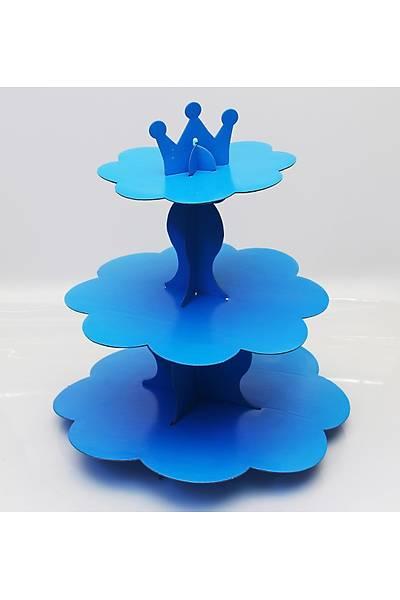 Mavi Renk, 3 Katlý Kek Standý