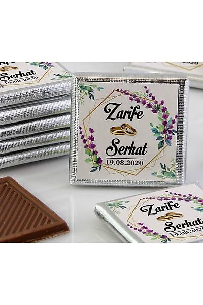 Söz-Niþan Çikolatasý - Kutulu - Lavanta, Kristal