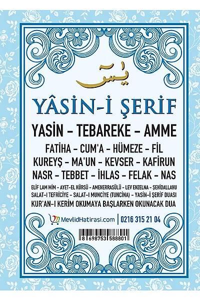 MAVÝ Kapak Yasin
