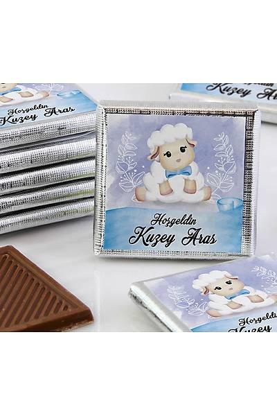 Erkek Bebek Çikolatasý - Kutulu - Kuzu