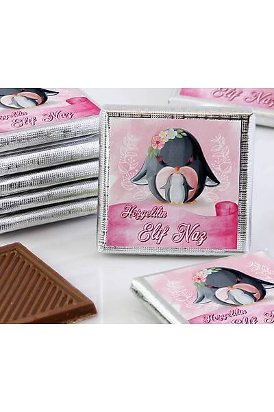 Kýz Bebek Dökme Çikolata - Penguen