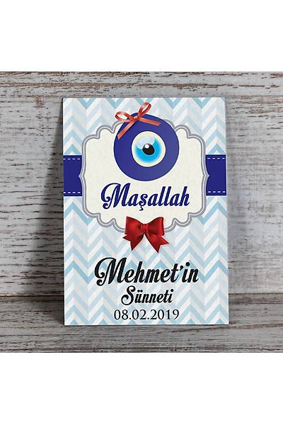 Mavi Temalý Magnet - Sünnet - 8 Adet