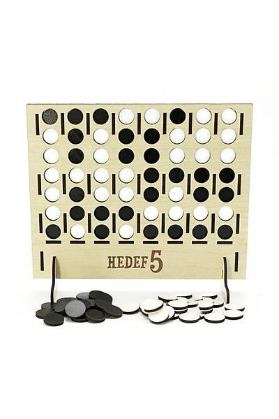 Hedef 5 (Bingo) Zeka Oyunu - Ahþap