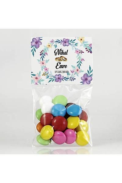 Bonibon Çikolata - Kýna, Nikah - Mor Çiçekler