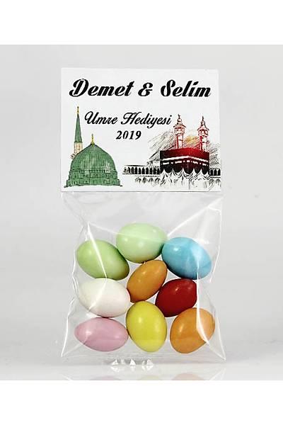 Renkli Çikolatalý Badem - Mekke, Medine