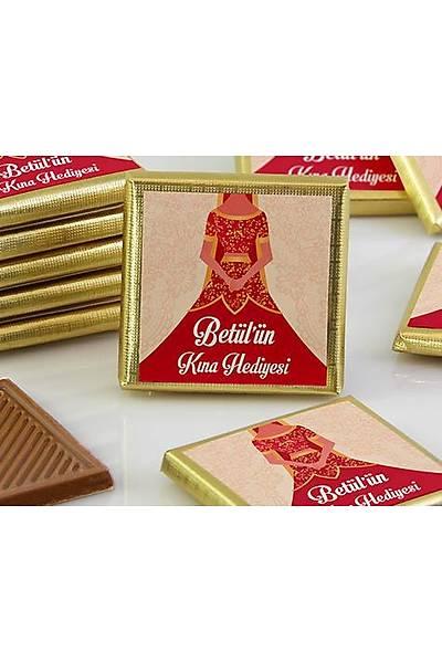 Söz-Niþan Çikolatasý - Kutulu - Kýna, Bindallý