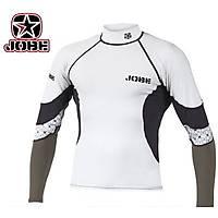 JOBE RASH GUARD LONG SLEEVE WHITE