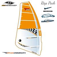 BIC WINDSURF ONE DESIGN 5,8 M² (RIGS PACK)