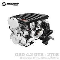 MERCURY DIESEL QSD 4.2 DTS - 270S (BRAVO ONE)