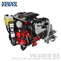 VOLVO PENTA V8-320-E SX