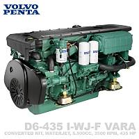 VOLVO PENTA D6-435 I-WJ-F (VARA)
