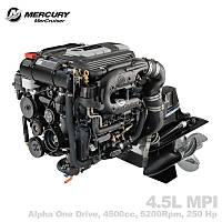 MERCRUISER 4.5L MPI (ALPHA) 250 HP