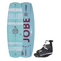 JOBE VANITY WAKEBOARD WOMEN 131 & UNIT BINDINGS