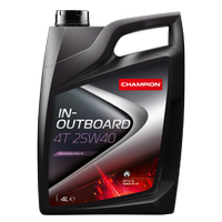CHAMPION IN-OUTBOARD 4T 25W40 60LT