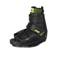 JOBE HOST BINDINGS VELCRO BLACK
