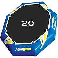 AQUAGLIDE REBOUND 20 AQUAPARK WITH PLUNGSLIDE AND I-LOG