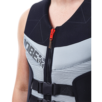JOBE SEGMENTED VEST MEN GREY