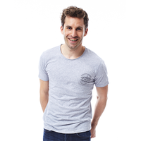 JOBE T-SHIRT CRAFT MEN GREY
