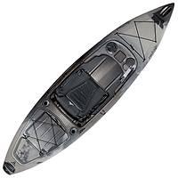 Ascend FS10 Sit-In Angler Kayak - Titanium