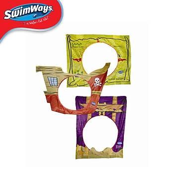 SWIMWAYS SPRING HOOPS PIRATE TREASURE