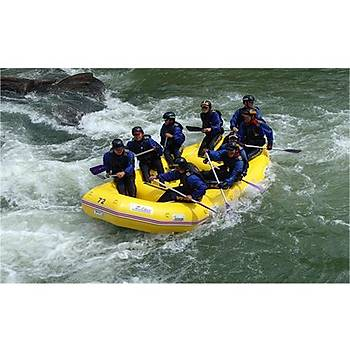 ZEBEC RIVER RAFT WITH FULL WRAP AND GLUE-IN 470R (SB)