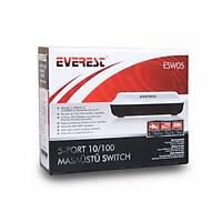 Everest ESW05 5 Port 10/100 Mbps Switch hub - 1475