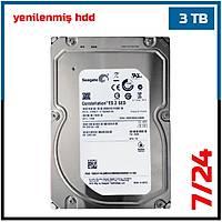 3 TB SEAGATE 7200 Rpm 64 MB  7/24 GÜVENLÝK DÝSKÝ (6 Ay garantili) - 1546