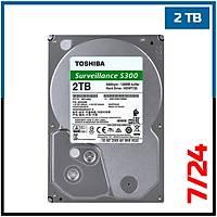 2 TB Toshiba Survillance 7/24 Güvenlik HDD - Harddisk - 1719