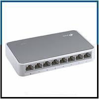 TP-LINK TL-SF1008D 10/100Mbps 8 Port Switch- 1844S