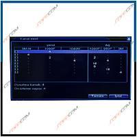 Safecam VR-AHD0403 4 Kanal 1080P Hybrid AHD Dvr  Kayit Cihazý H.264+ / 1648s